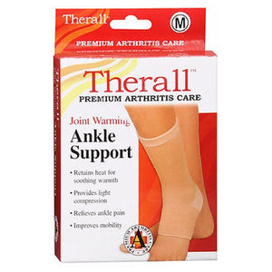 Therall Joint Warming Ankle Support Medium 1 each by Therall