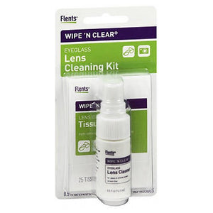 Flents Wipe 'n Clear Lens Cleaning Kit 1 each by Flents (2587543339093)