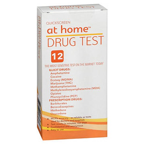 At Home 12 Panel Drug Test 1 each by At Home