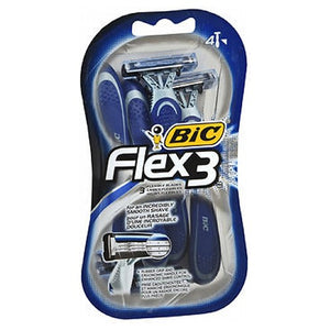 Bic Flex 3 Shavers For Men 4 each by Bic (2587549401173)