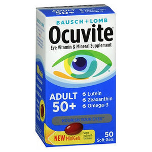 Bausch & Lomb Ocuvite Adult 50+ Soft Gels 50 ct by Bausch And Lomb (2587549466709)