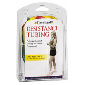 Thera-Band Latex Exercise Tubing Light Resistance 1 each by Thera-Band (2587560509525)