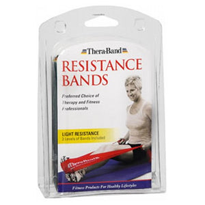 Thera-Band Latex Exercise Band Light 1 each by Thera-Band