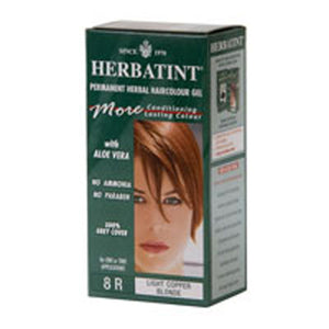Herbatint Permanent Light Copper Blonde (8r) 4 Oz by Herbatint (2583982342229)