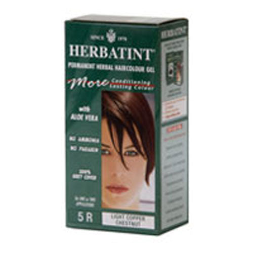 Herbatint Permanent Light Copper Chestnut (5r) 4.56 Oz by Herbatint