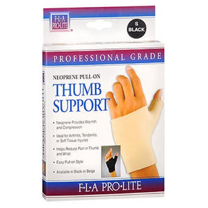 Fla Orthopedics Prolite Neoprene Pull On Thumb Support Black Large 1 each by Bsn-Jobst