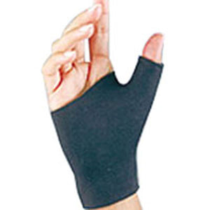 Fla Orthopedics Prolite Neoprene Pull On Thumb Support Black Medium 1 each by Bsn-Jobst