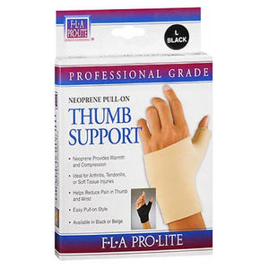 Fla Orthopedics Prolite Neoprene Pull On Thumb Support Black Small 1 each by Bsn-Jobst
