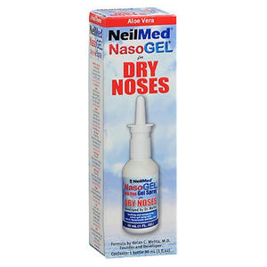 Nasogel Nasal Spral Drip Free Gel Spray For Dry Noses 30 ml by Neilmed (2587574730837)