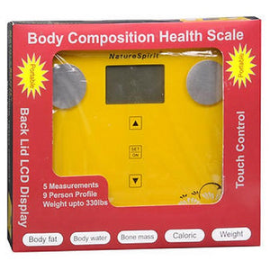 Portable Biometric Body Composition Weight Scale each by Naturespirit (2587575451733)