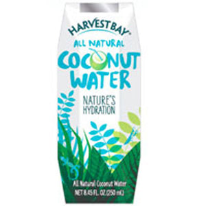 All Natural Coconut Water 8.45 oz(case of 12) by Harvest Bay
