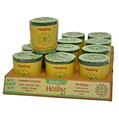 Chakra Energy Votive Candle Healing 2 oz(case of 12) by Aloha Bay