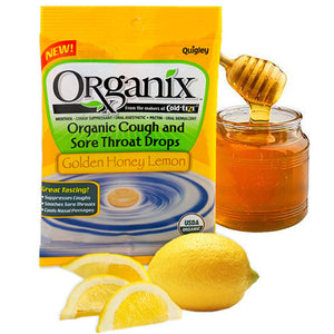 Throat Drop Honey Lemon 21 Count(case of 4) by Organix (2588104687701)