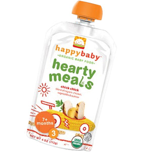 Organic Baby Food Stage 3 Chick 16 X 4 Oz by Happy Baby Food