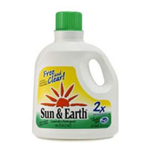 2X Laundry Liquid Free and Clear 100 oz(case of 4) by Sun & Earth (2588116910165)