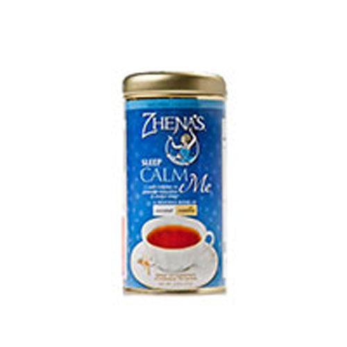 Wellness Collection Tea Calm Me Coconut and Vanilla 22 bags(case of 6) by Zhena's Gypsy Tea