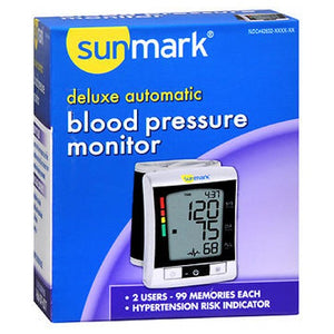 Sunmark Deluxe Automatic Blood Pressure Monitor 1 Each by Sunmark