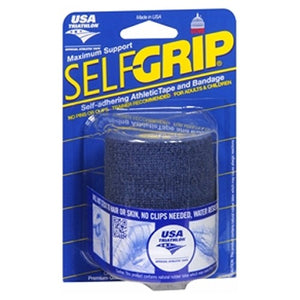 Self-Adhering Athletic Tape Bandage 3 Inches Blue 1 Each by Self-Grip