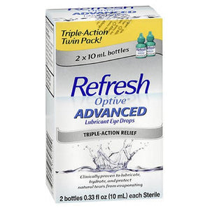 REFRESH Optive Advanced Lubricant Eye Drops 0.66 oz by Refresh