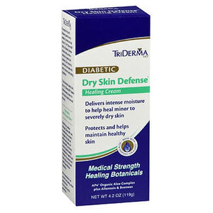 TriDerma MD Diabetic Dry Skin Defense Healing Cream 4.2 oz by Triderma Md (2588176678997)