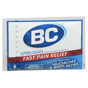 BC Pain Relief Powders 6 Each by Med Tech Products (2588177170517)