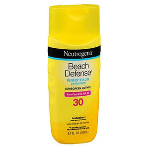 Neutrogena Beach Defense Lotion SPF 30 6.7 oz by Neutrogena (2590109466709)