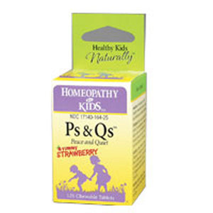 PS & QS 125 Tabs by Herbs For Kids (2589024682069)