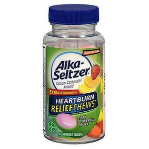 Alka-Seltzer Antacid Fruit Chews Orange Lemon and Strawberry 36 Each by Alka-Seltzer