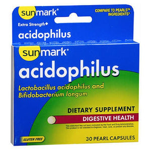Acidophilus 30 Caps by Sunmark