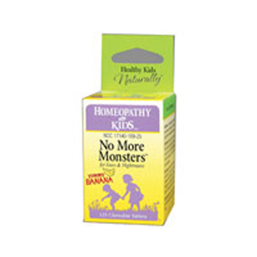 No More Monsters Banana 125 Tabs by Herbs For Kids
