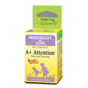 A+ Attention 125 Tabs by Herbs For Kids (2587251572821)