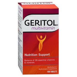 Geritol Multivitamin 100 Tablets by Geritol