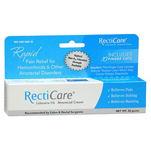 RectiCare Anorectal Cream 30 grams by Ferndale Laboratories (2590112710741)