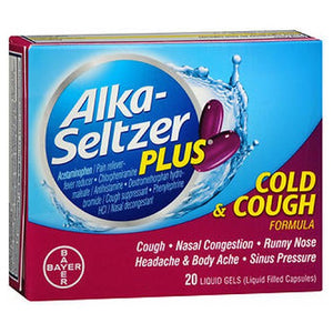 Alka-Seltzer Plus 20 Caps by Bayer (2590128013397)