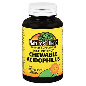 Nature's Blend Acidophilus Chewable 100 Tabs by Profoot