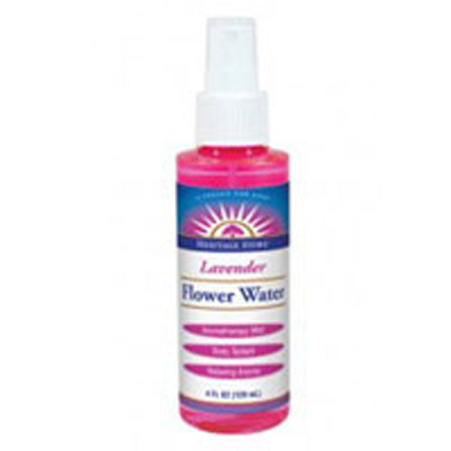 Flower Water LAVENDER ATOMIZER, 4 OZ by Heritage Products
