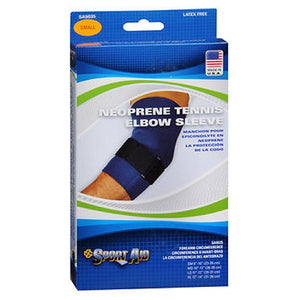 Sport Aid Neoprene Tennis Elbow Sleeve Small Each by Scott Specialties