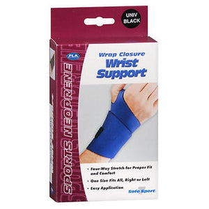 Fla Orthopedics Safe-T-Sport Wrist Support Wrap Black Universal 1 Each by Bsn-Jobst