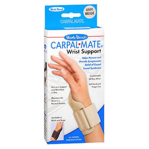 CarpalMate Wrist Support Beige 1 Each by Bsn-Jobst