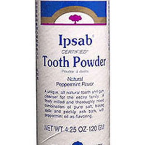 Ipsab Tooth Powder Peppermint 4 Oz by Heritage Products