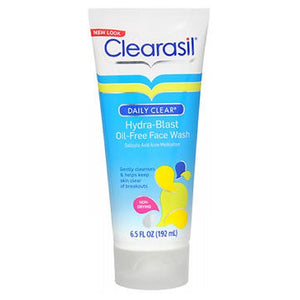 Clearasil Daily Clear Oil-Free Daily Face Wash 6.5 oz by Airborne (2590159634517)