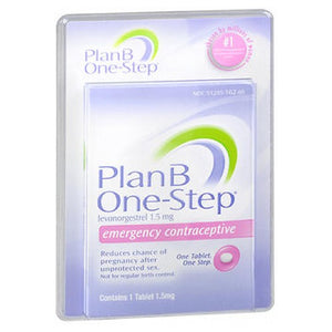 Plan B One-Step Emergency Contraceptive Tablet 1 Tab by Teva Womens Health Inc