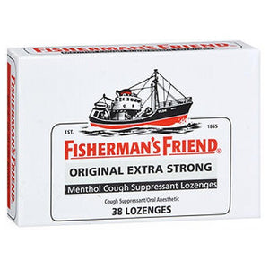 Fisherman's Friend Cough Suppressant Lozenges Menthol 38 Each by Greenwood Brands Llc