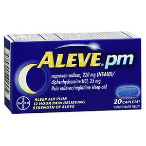 Aleve PM Caplets 20 Caplets by Bayer (2590161305685)