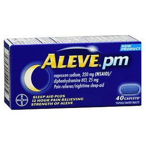 Aleve PM Caplets 40 Caplets by Bayer (2590161338453)