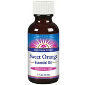 Sweet Orange Oil 1 FL Oz by Heritage Products (2583985356885)