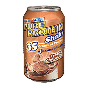 Pure Protein Shake Chocolate 4/11 Oz by Worldwide Sport Nutrition