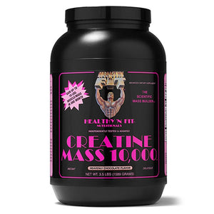 Creatine Mass 10000 Vanilla 5 lbs by Healthy 'n Fit (2588308930645)
