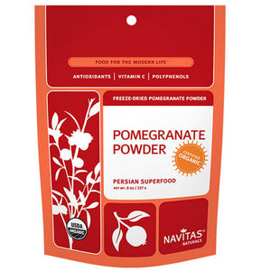 Pomegranate Powder 8 Oz by Navitas Naturals