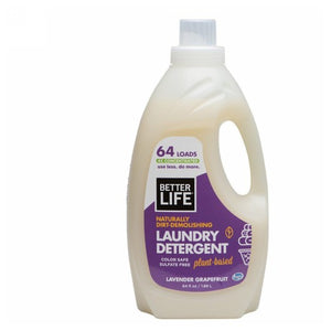 Spin Credible Natural Laundry Detergent Lavender Grapefruit 64 fl oz by Better Life (2588342452309)